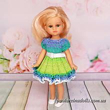 Нарядное платье для кукол мини Подружки 21 см Паола Рейна