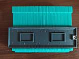 Измеритель контура WolfCraft 12cm Green ABS универсальный контурный шаблон, фото 6