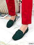 Лоферы женские зеленые  27943, фото 2