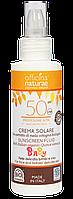 Солнцезащитный крем высокого уровня защиты Spf 50 для детей Officina Naturae в ЭКО упаковке 100 мл