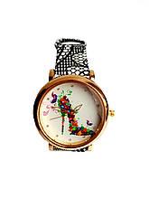 Часы женские CFTY Черно-белые ТЧБ-0032, КОД: 111982