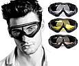 Защитные очки, очки для стрельбы, солнцезащитные, вело, тактические, горнолыжные Drop, фото 5