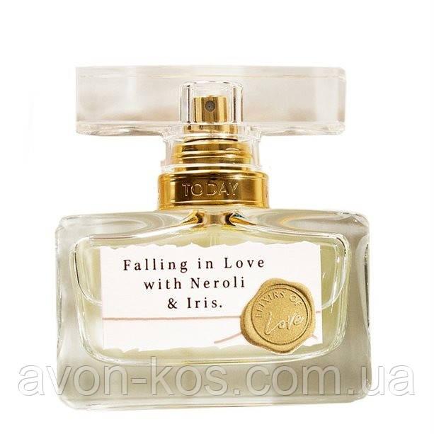 Парфумерна вода Falling in Love with Neroli & Iris для неї, 30 мл, серії Today, Tomoroww, TTA