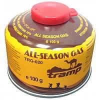 Баллон газовый резьбовой 100г Tramp