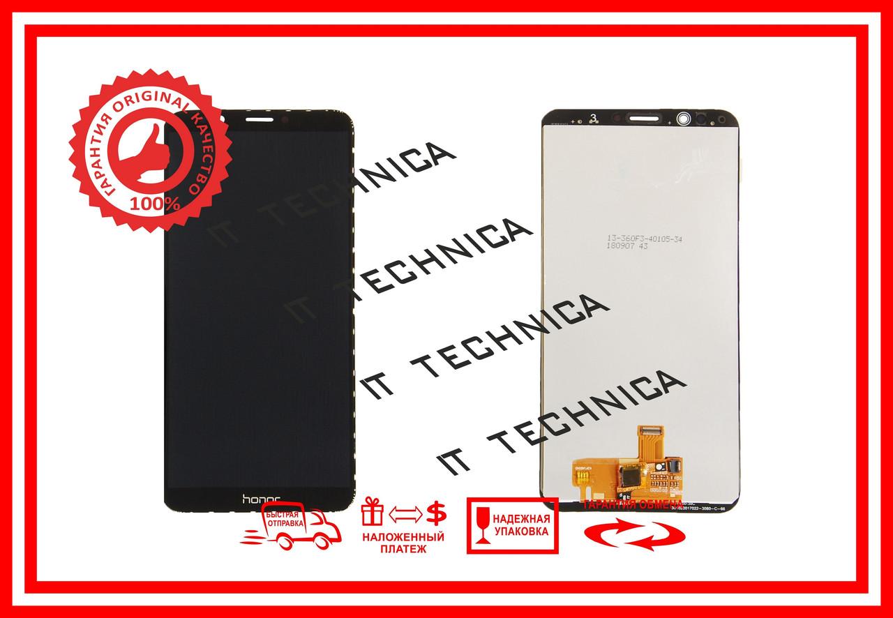 Модуль тачскрин+матрица Huawei Enjoy 8 Чорний ОРИГІНАЛ
