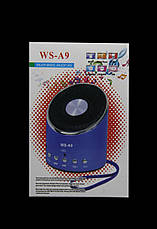 Портативна колонка від USB, FM WSTER WS-A9, фото 3