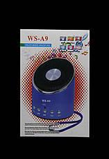 Портативная колонка от USB с FM WSTER WS-A9, фото 3