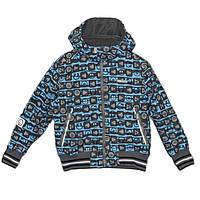 Куртка «GREG» с бирюзовым принтом, фото 1