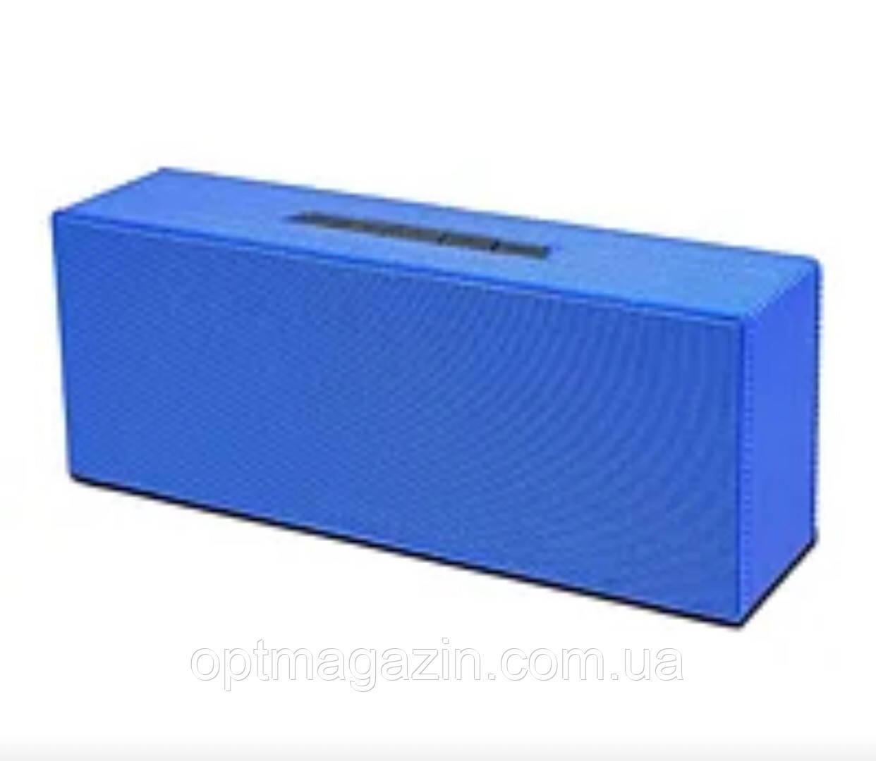 Портативная колонка AT-7708 (USB+Bluetooth+FM + Led дисплей) blue