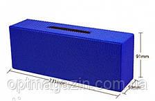 Портативная колонка AT-7708 (USB+Bluetooth+FM + Led дисплей) blue, фото 2