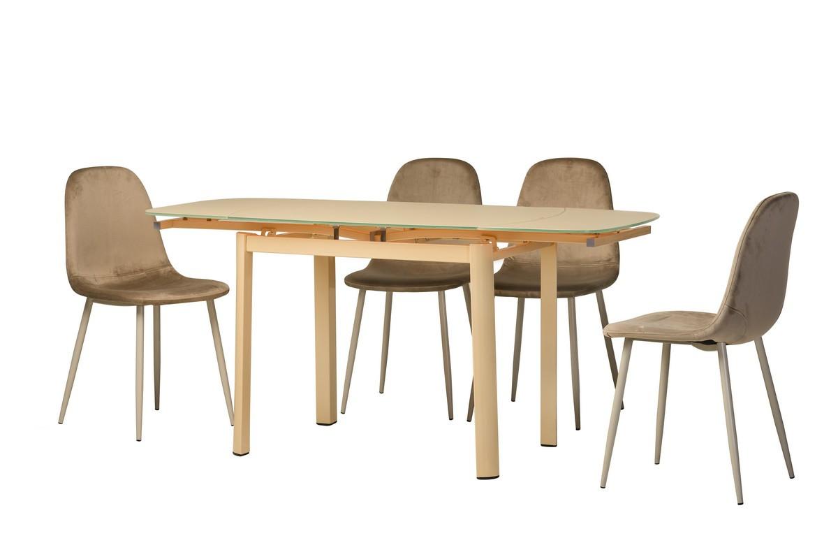 Обеденный стол Т-600-2 кремовый Ветро