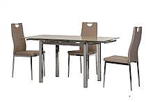 Обеденный стол T-231-8 серый Ветро
