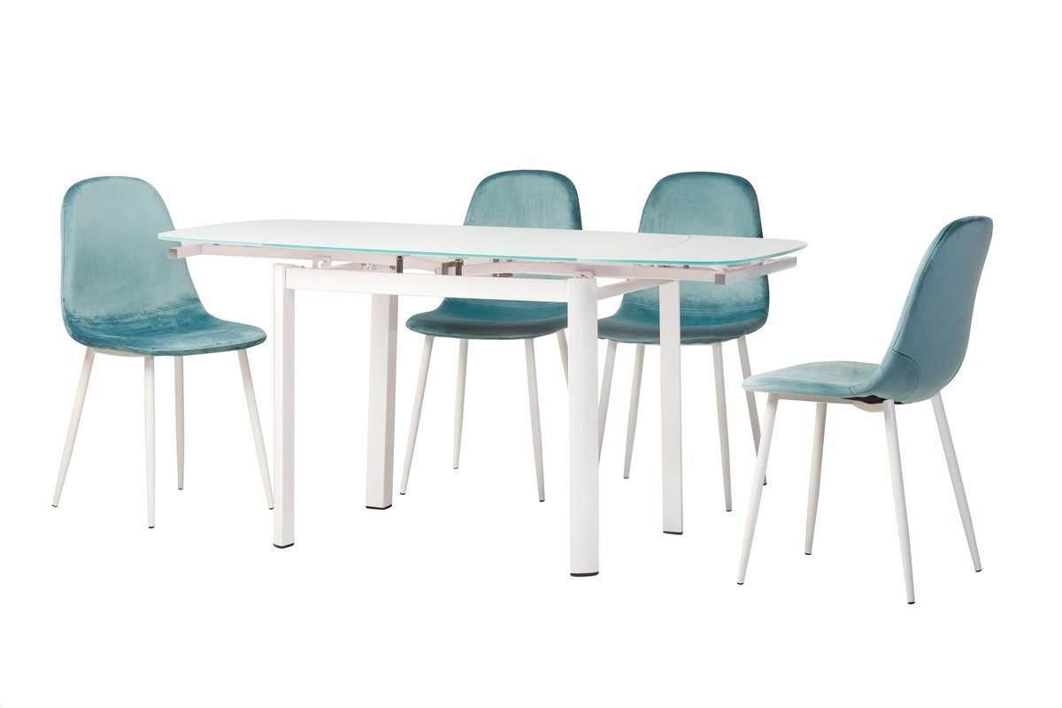 Обеденный стол Т-600-2 снежно-белый