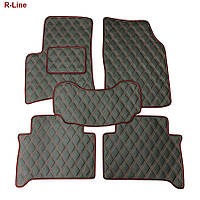 Модельные коврики из эко кожи в автомобиль R-Line