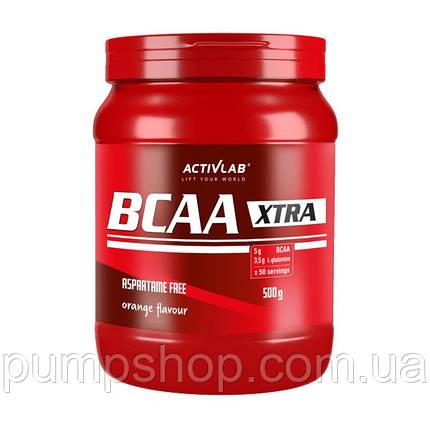 Амінокислоти Activlab Bcaa Xtra 500 г, фото 2