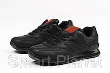 Кроссовки мужские 17631, New Balance  574, черные, < 44 45 46 > р. 42-27,0см., фото 3