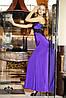 """Вечернее платье """"Кассандра""""- лиловый (без шлейфа)"""