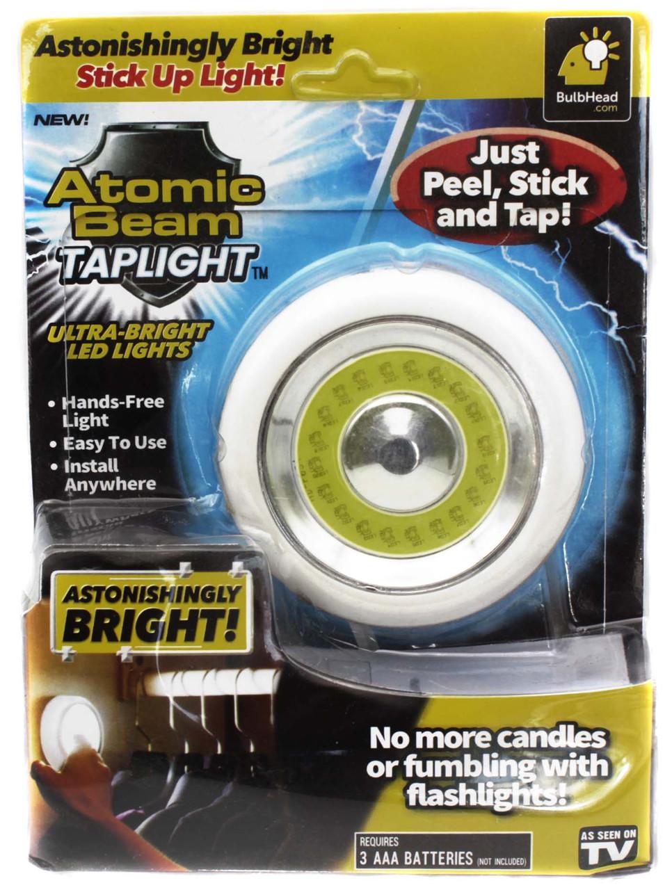 Универсальный точечный Свитильник Atomic Beam Tap Light/ Z21 /3хAAA/ Липучка