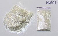 Перламутровые хлопья №601 (розово-золотистые)