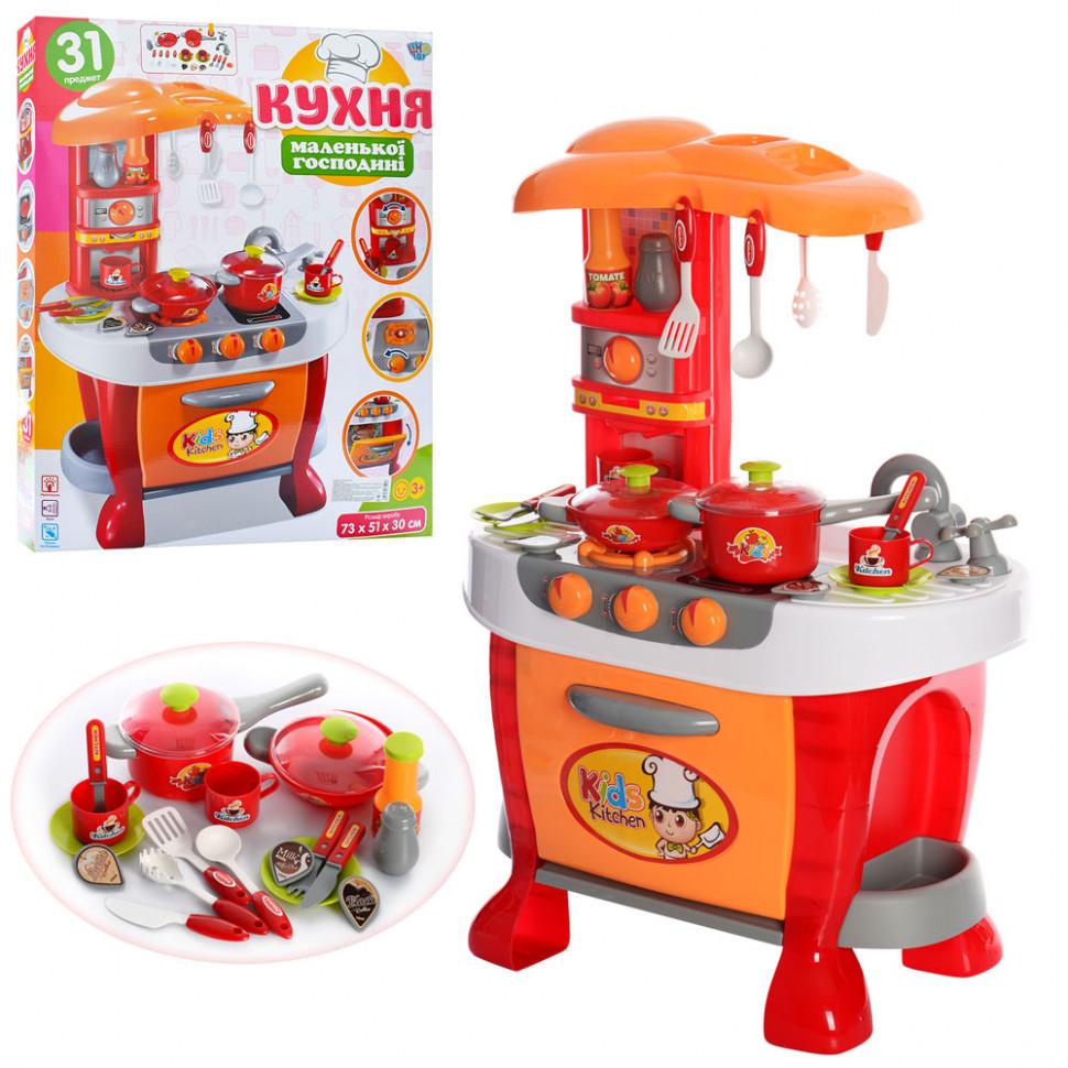 Детская игрушечная кухня 008-801A Оранжевый