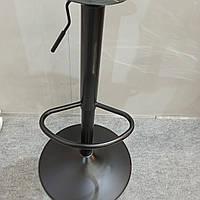 Ножка, опора под барный стул черная высота 760 мм