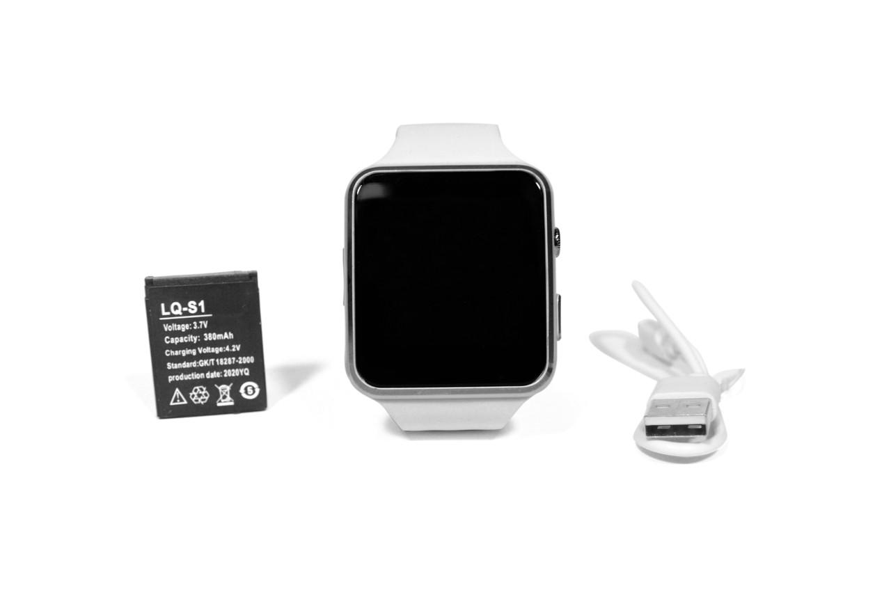 Смарт-часы Smart Watch X6 White Android (совместимость с Android и ios)