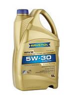 Масло моторное синтетическое RAVENOL (равенол) WIV III SAE 5W-30 5л.