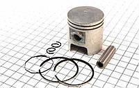 Поршень, кольца, палец к-кт 65сс 43мм STD на двигатель 2Т - цепной вариатор