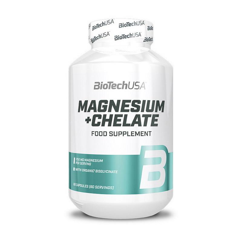 Магний хелат BioTech Magnesium + Chelate (60 caps)