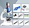 Микроскоп  школьный(300x, 600x, 1200x) (в кейсе), фото 2