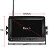 Система паркування для вантажівки SAMFIWI C1073 (Бездротовий Монітор 7 дюймів + 1 бездротова камера 12-24V)CPA, фото 2
