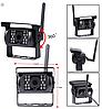 Система паркування для вантажівки SAMFIWI C1073 (Бездротовий Монітор 7 дюймів + 1 бездротова камера 12-24V)CPA, фото 4