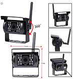 Система парковки для грузовика SAMFIWI C1073 (Беспроводной Монитор 7 дюймов + 1 беспроводная камера 12-24V), фото 4