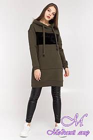 Женское худи платье (р. S, M, L) арт. Т-87-03/45036