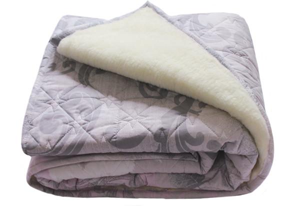 "Одеяло ""Ваш сон"",овчина 200х210см,(двуспальное-евро)"