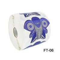 Формы для наращивания ногтей (стилеты фиолетовые (бабочка/сова))