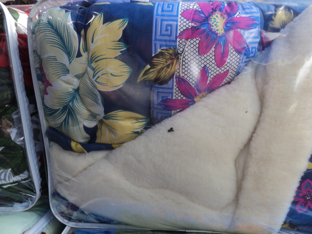 """Одеяло """"Ваш сон"""",овчина 180х210см,(двуспальное)"""