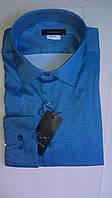 Стильная Мужская рубашка DERGI приталенная с длинным рукавом  код special