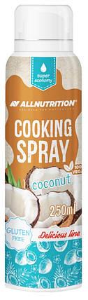Спрей-масло для жарки Allnutrition Cooking Spray 250 мл кокос, фото 2
