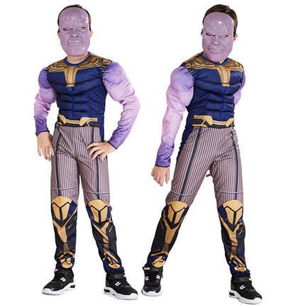 Костюм Танос ABC объемный L (130-140+ см) Мстители - костюм Таноса, фото 2