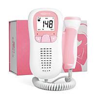 Допплер беременным, ультразвуковой детектор сердцебиения для беременных, карманный допплер электронный