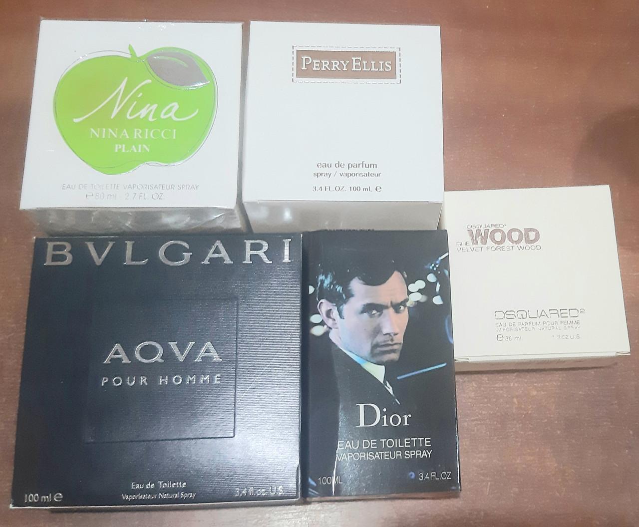 Набор парфюмерии без упаковки 5 шт