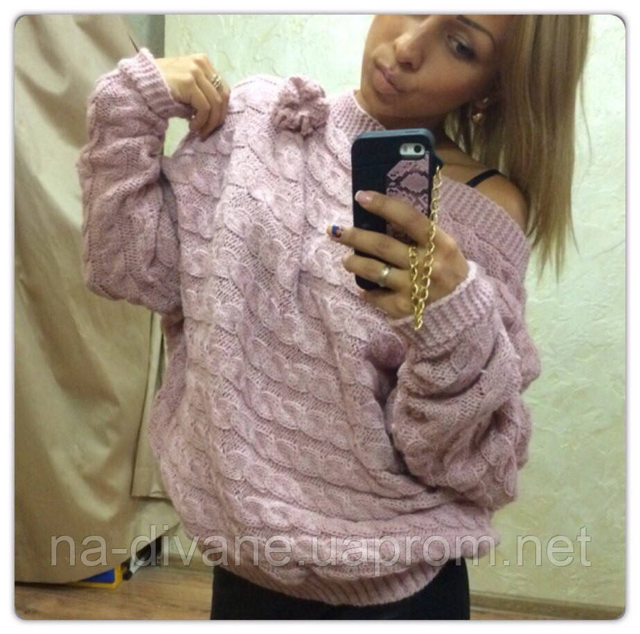 свитер косы поперек семер цена 360 грн купить в чернигове Prom