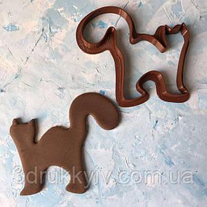 """Вирубка для пряників """"Кіт #2"""" / Вырубка - формочка для пряников """"Кот #2"""""""