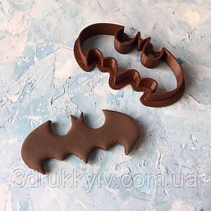 "Вирубка для пряників  ""Знак Бетмена #2"" / Вырубка - формочка для пряников ""Значок Бэтмена #2"""