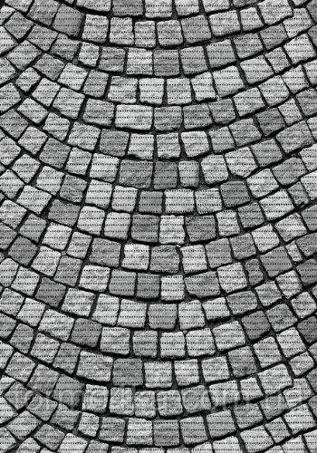 Коврик аквамат в ванную 80см Камень мозаика