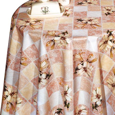 Клейонка на флізеліновій основі Декорама Лілія Клітка