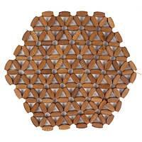 Бамбукова підставка під гаряче 22см, фото 1
