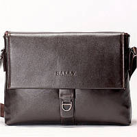 Мужская сумка на плече BALLY коричневого цвета