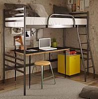 """Кровать детская """"Флай Дуо чердак"""" 80х190 см. Металлический каркас"""